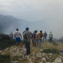 Πλάτανος Ναυπακτίας: Ευχαριστούν εθελοντές και πυροσβέστες για την κατάσβεση της πυρκαγιάς [φωτο]