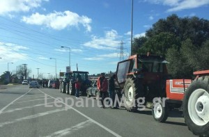 Ναύπακτος: Video από την πορεία των αγροτών στο Λιμάνι της πόλης