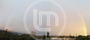 Ναύπακτος: Μετά την καταιγίδα ένα εκπληκτικό ουράνιο τόξο [φωτο]
