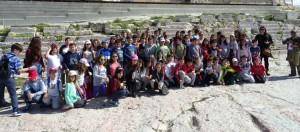 Στην Ακρόπολη και το Γήπεδο Καραϊσκάκη οι μαθητές του 3ου Δημοτικού Σχολείου