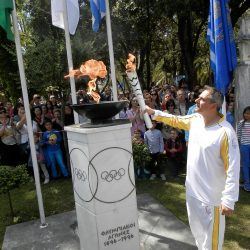 Στο Μεσολόγγι η Ολυμπιακή Φλόγα [φωτο]