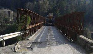 Διακοπή της κυκλοφορίας στη γέφυρα Μπανιά λόγω έργων