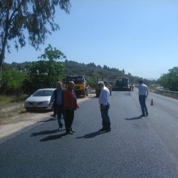 Εργασίες συντήρησης του εθνικού οδικού δικτύου της Π.Ε. Αιτωλοακαρνανίας